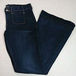 Express Mia Flare Jeans Size 14 Long EUC